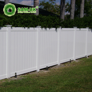 6' x 8' vinyl privacy fence double gate garden zone