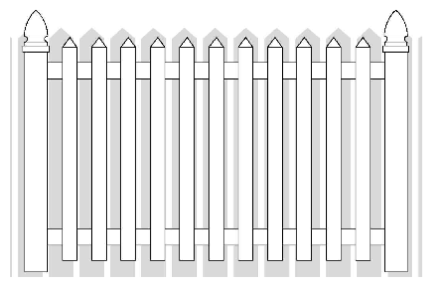 How To Install Vinyl Picket Fence