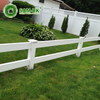 16 ft 2 rail vinyl horse fencing cost effective