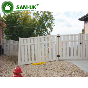 8 Foot Semi Private Fence Sliding Gate Gates