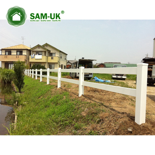 Portable Farm Fence Of Pvc Vinyl Equine Fence