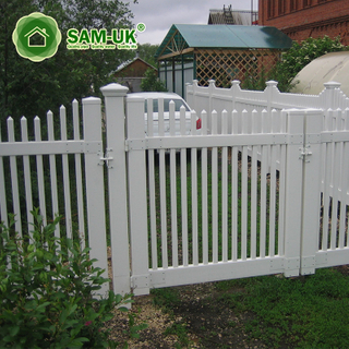 16 Foot Picket Fence Sliding Gate Metal