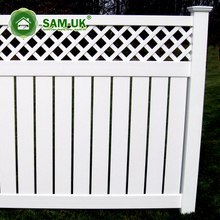 Fashion design cheap vinyl fence