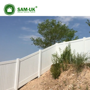 Free Maintenance Uv Protection Used Vinyl Fence For Sale Privacy