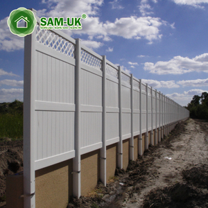 Plastic Garden Lowes Panels Pvc Horse Vinyl Temporary Privacy Fencing