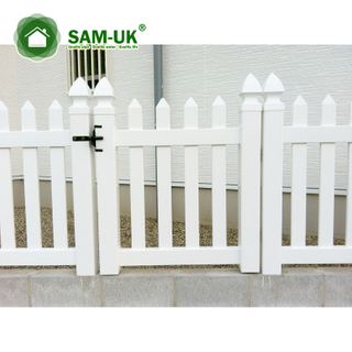 Pvc 4 Ft Picket Shadow Box Fence Gate