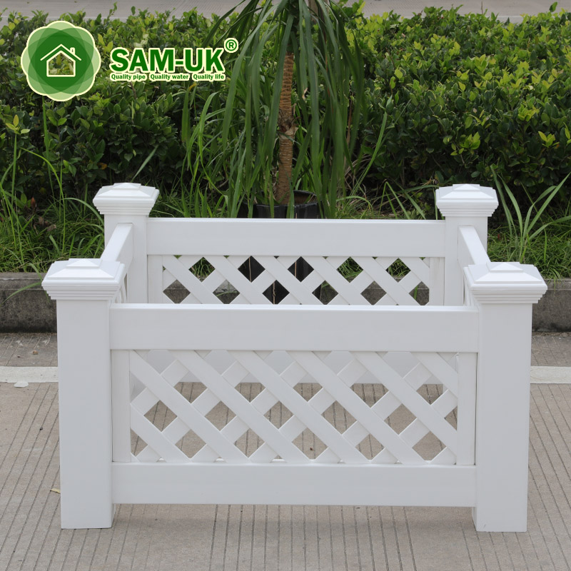Rectangular Modern Yard Vinyl Planter Box