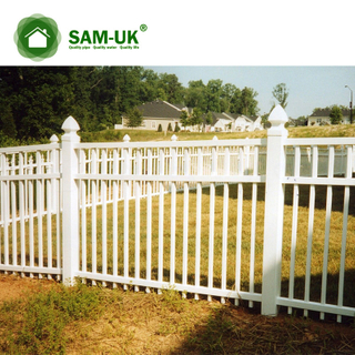 Pvc Privacy Fencing Portable Plastic Small Garden Vinyl Picket Fence
