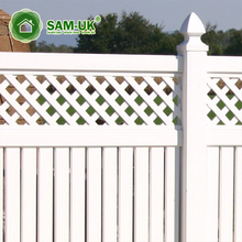 high quality China fence solution PVC picket garden fence