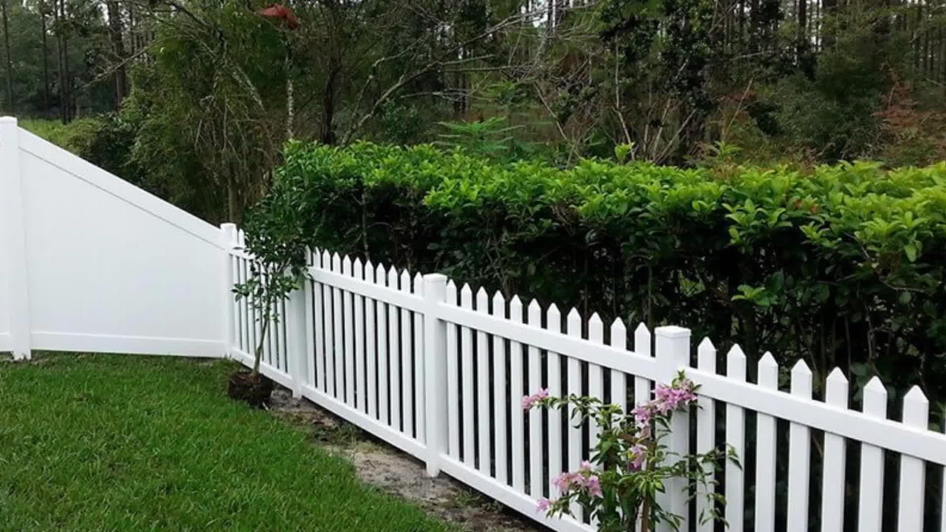Lowes Vinyl Fence Panels Pvc Private Fence Vinyl Privacy Fence