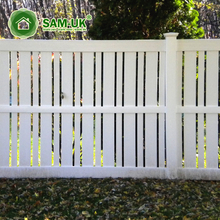 High Quality Plastic PVC Vinyl Garden Fence Semi-Privacy Fence