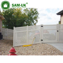 pvc beatiful high quality vinyl fence gate privacy fence gate